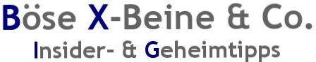 Böse X-Beine & Co. Logo
