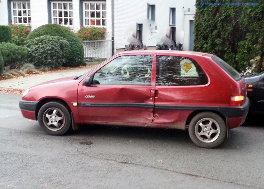 Citroën Saxo Chrono Totalschaden