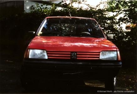 1983er Peugeot 205 GR #01
