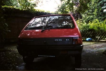 1983er Peugeot 205 GR #02