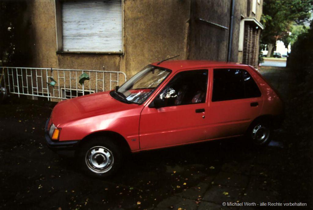 1983er Peugeot 205 GR #03