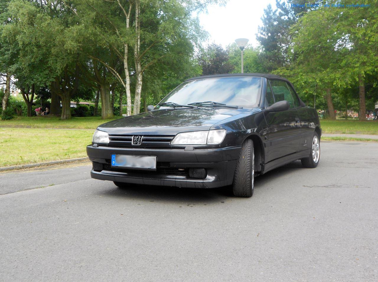 1996er Peugeot 306 Cabriolet #02