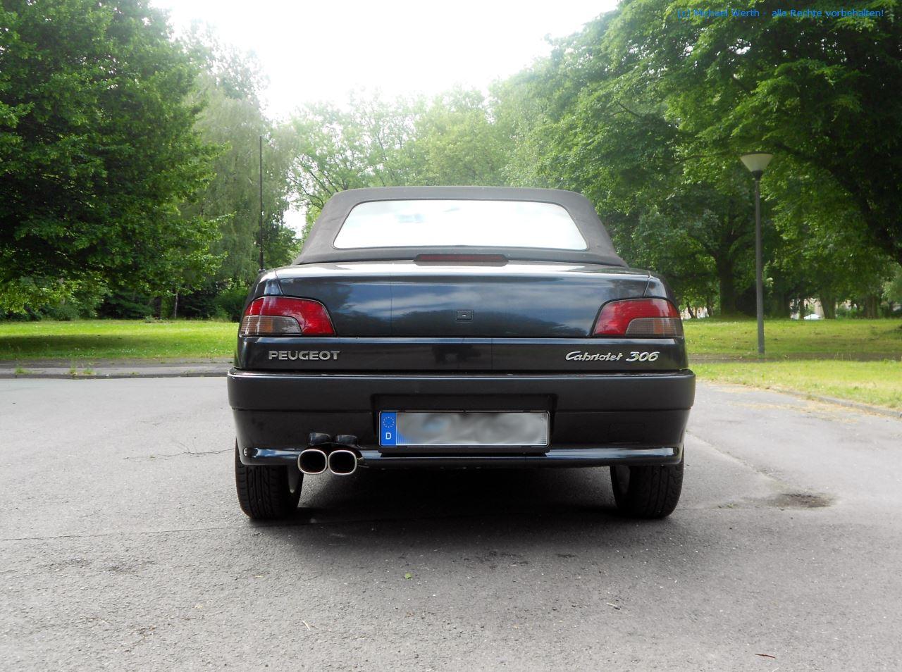 1996er Peugeot 306 Cabriolet #05
