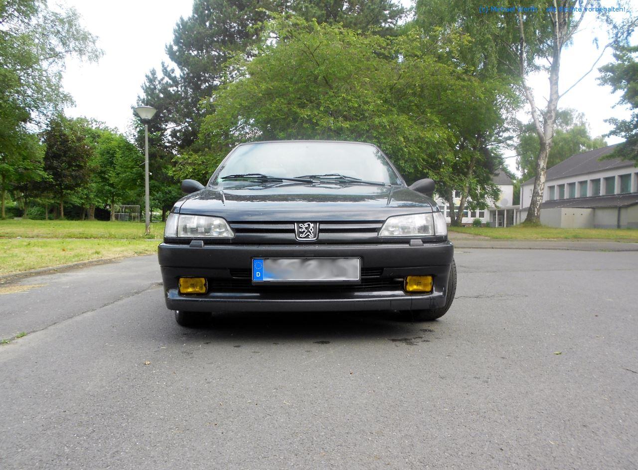 1996er Peugeot 306 Cabriolet #07