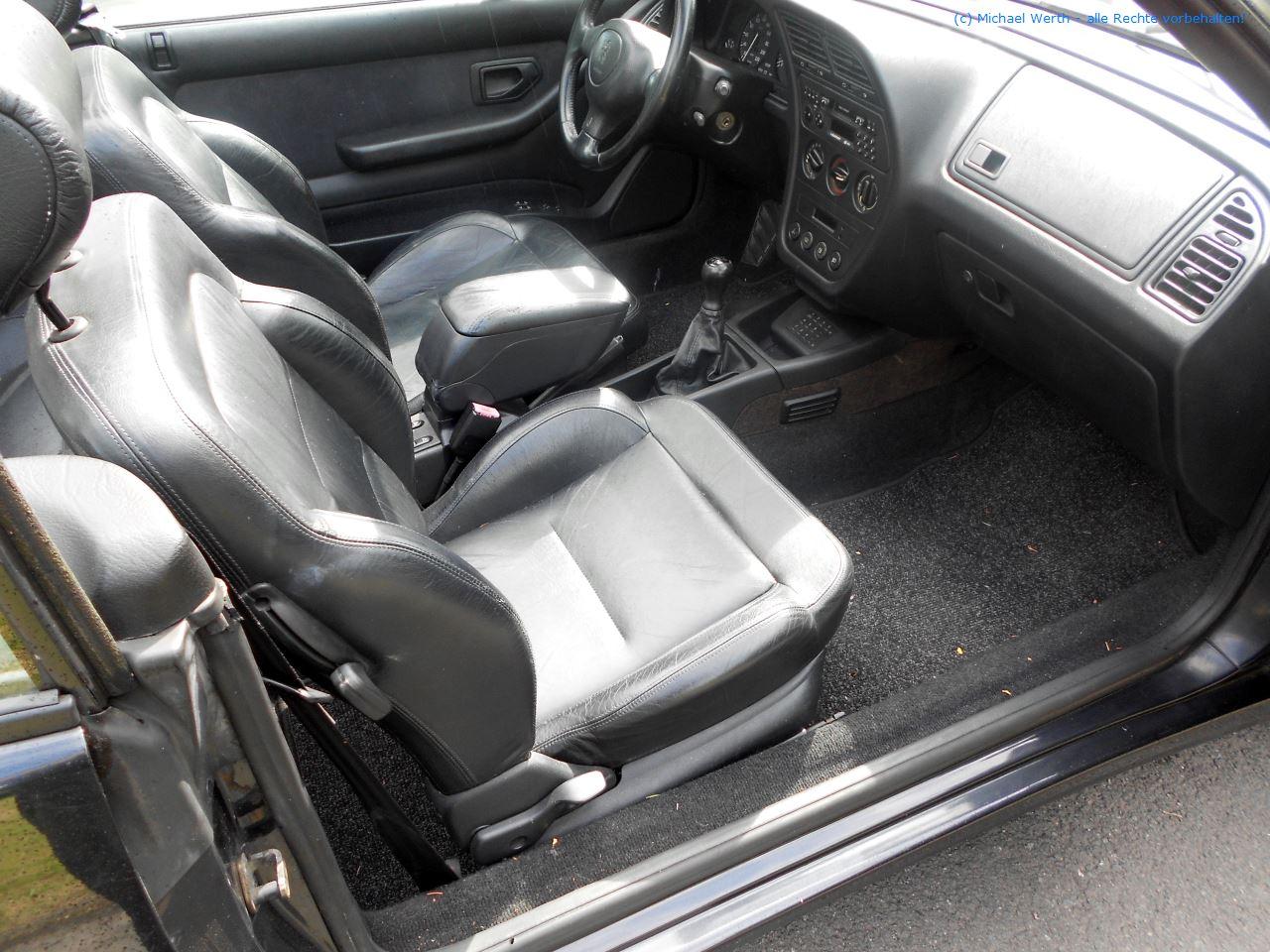 1996er Peugeot 306 Cabriolet #10