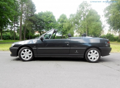 1996er Peugeot 306 Cabriolet #11