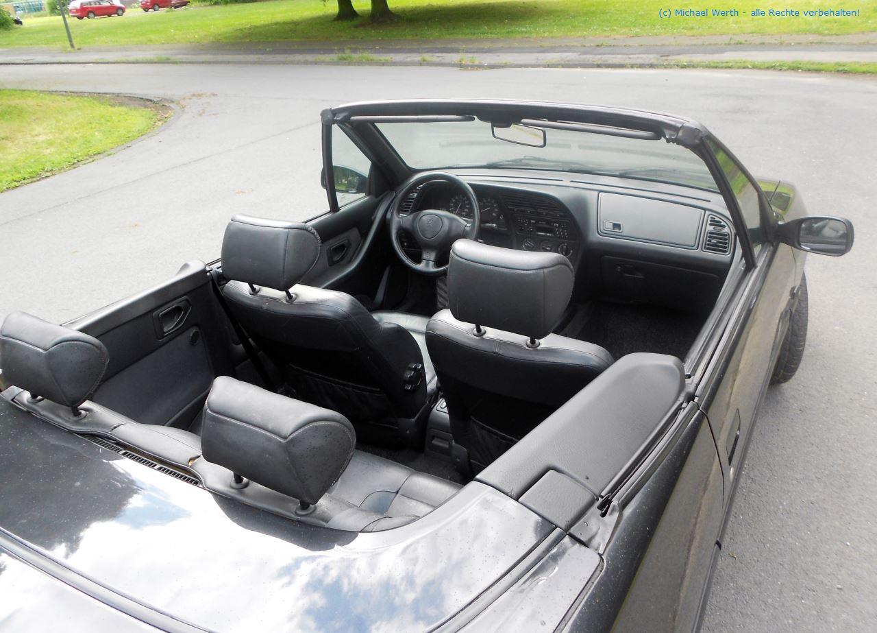 1996er Peugeot 306 Cabriolet #14
