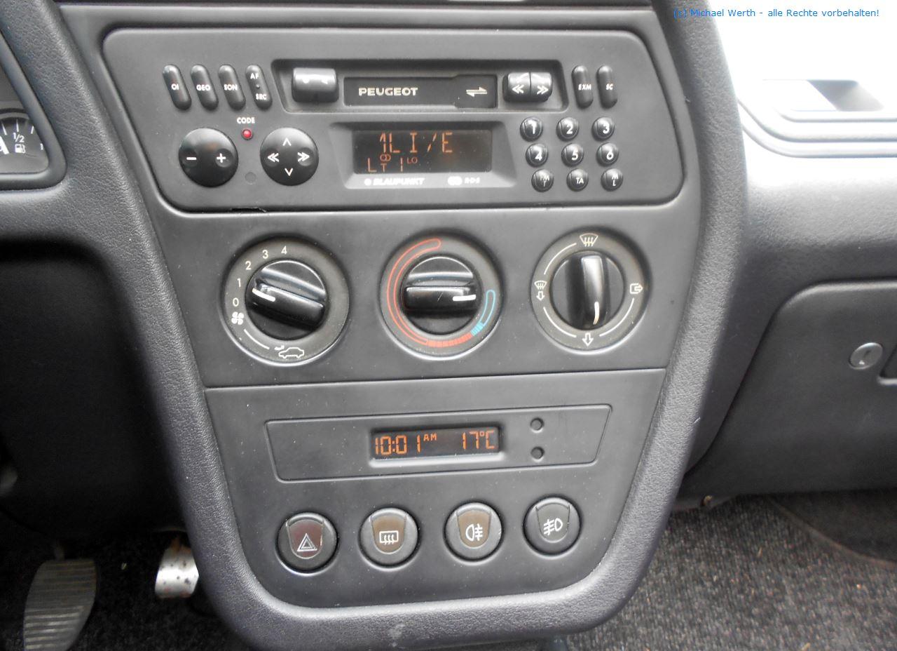 1996er Peugeot 306 Cabriolet #15