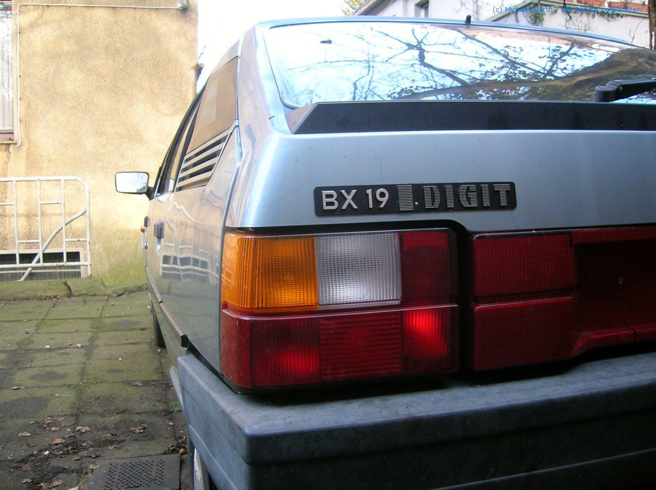 1985er Citroën BX DIGIT #05