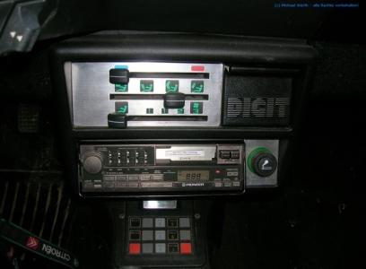 1985er Citroën BX DIGIT #01