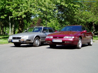 bildlicher Vergleich 1984er Citroën CX GTi Turbo & 1997er Citroën XM V6 Exclusive #04