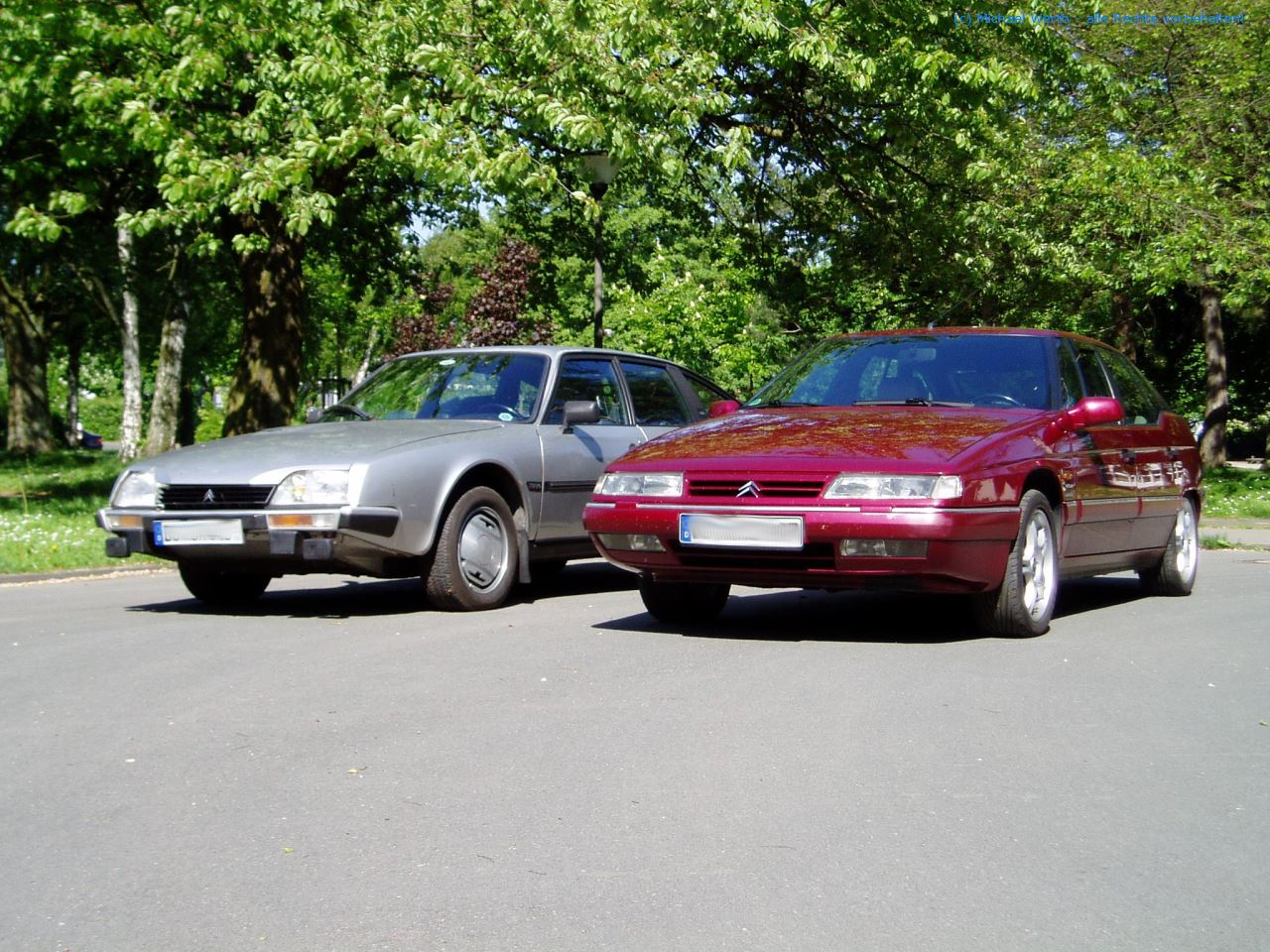 CX 25 GTi Turbo & XM 3.0 V6.24