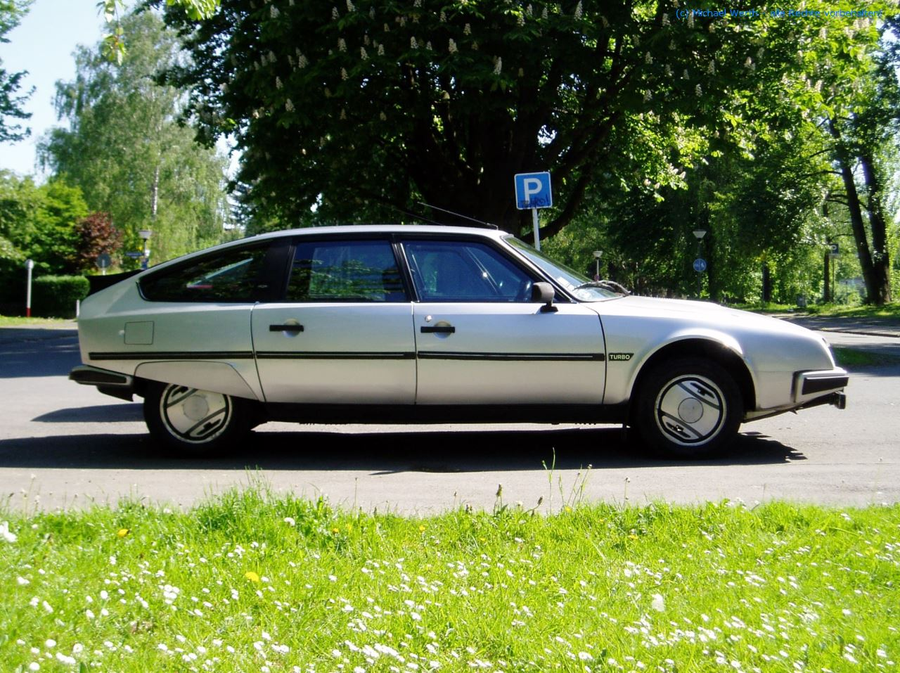 bildlicher Vergleich 1984er Citroën CX GTi Turbo & 1997er Citroën XM V6 Exclusive #07