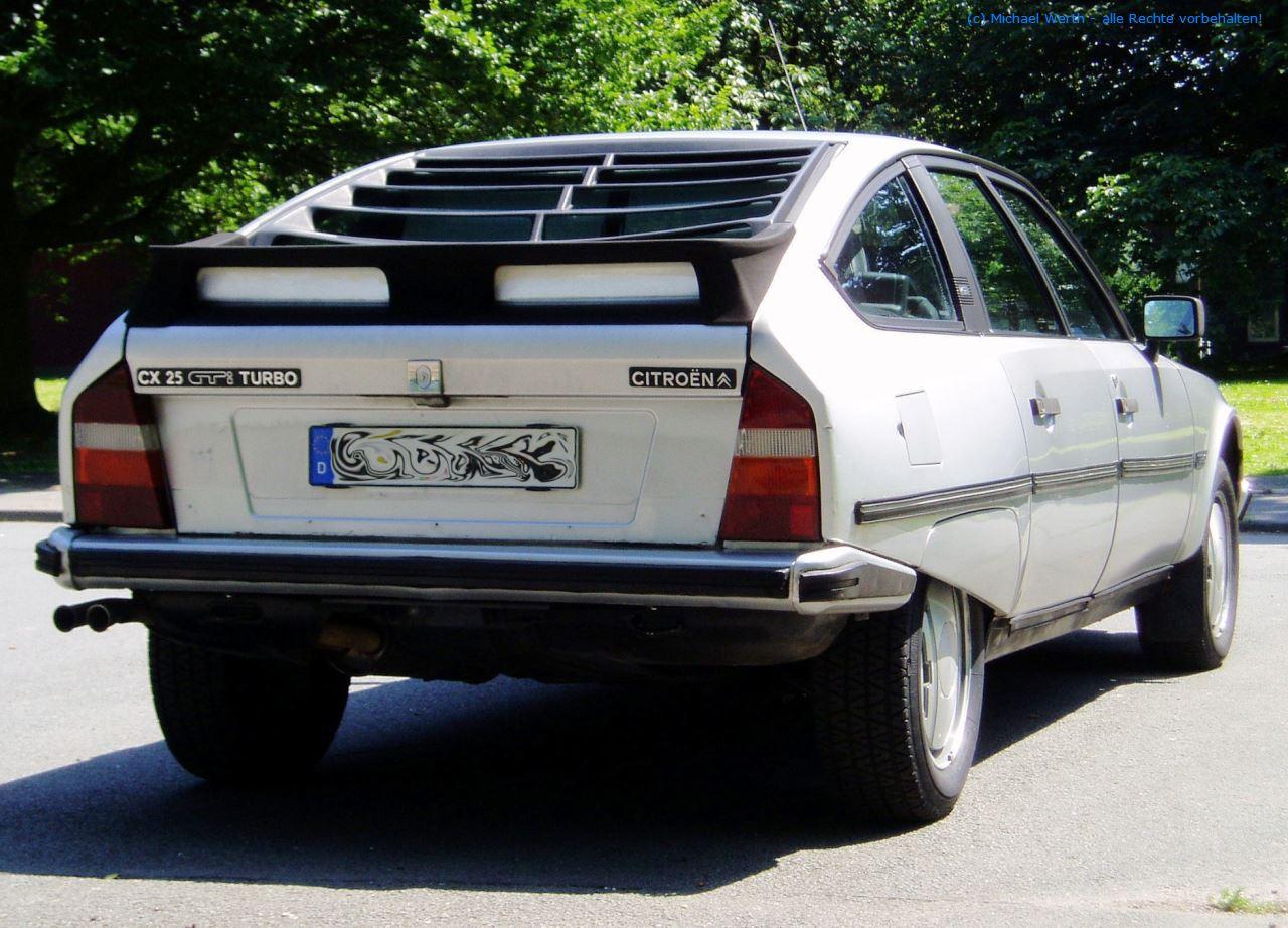 1984er Citroën CX 25 GTi Turbo #06