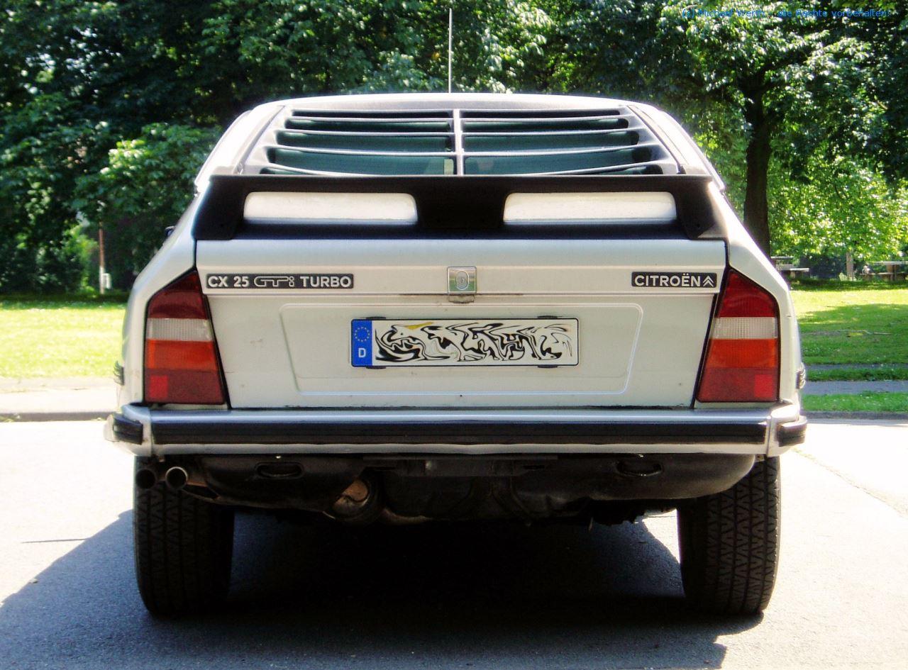 1984er Citroën CX 25 GTi Turbo #07