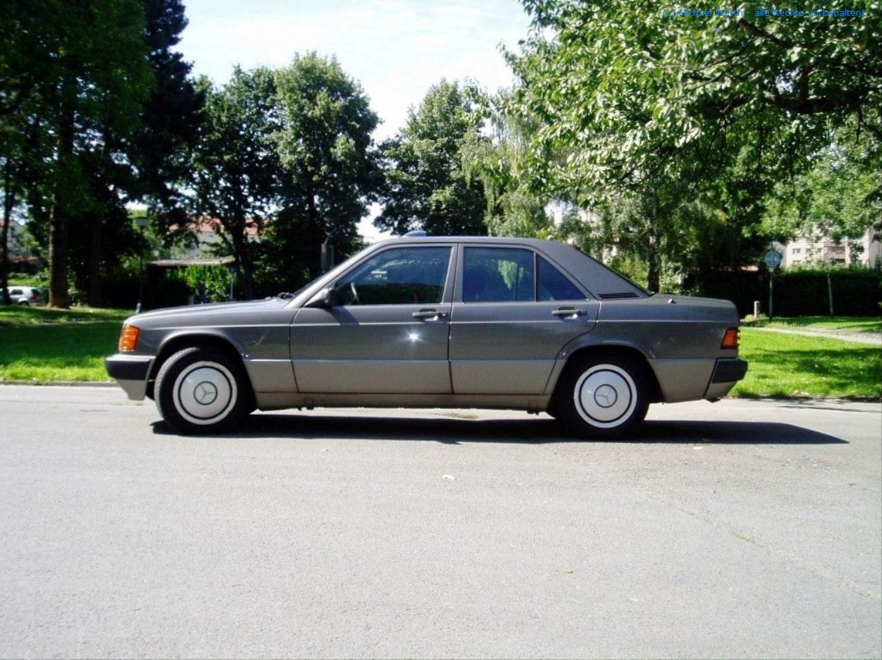 1989er Mercedes Benz 190E 2.0 #04