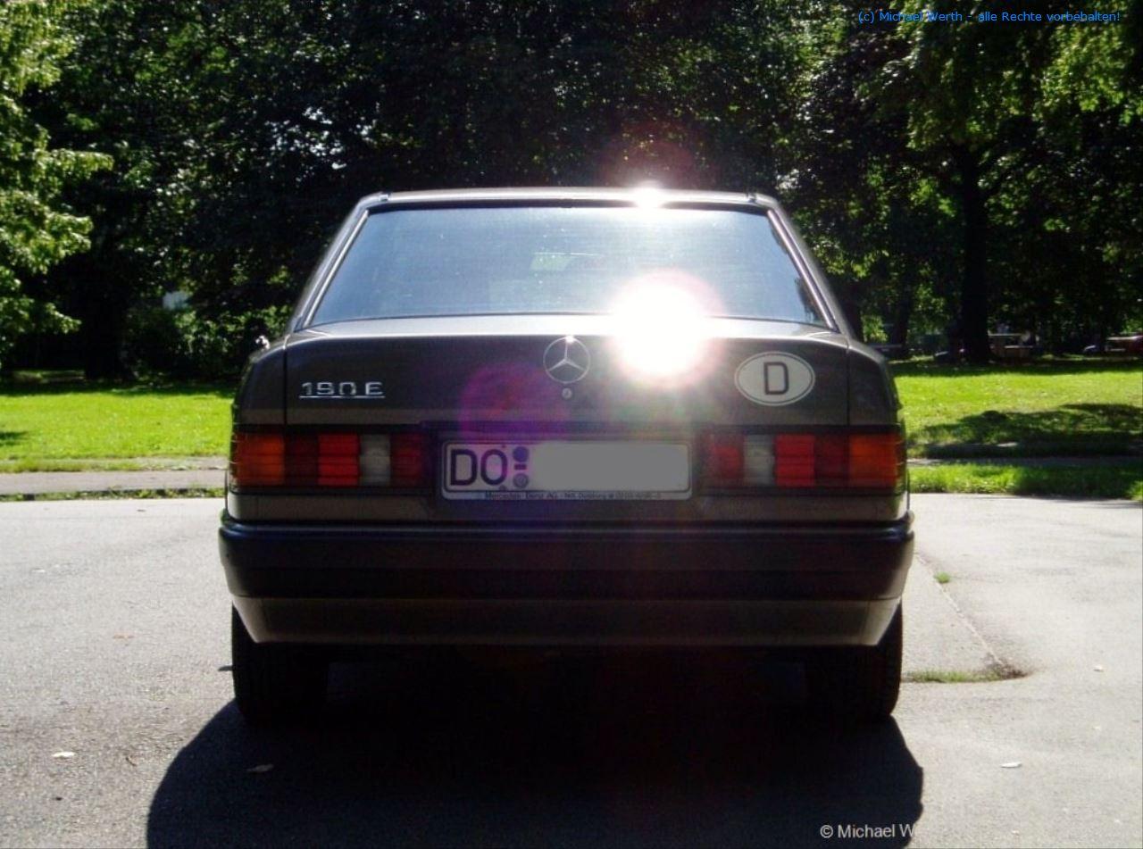 1989er Mercedes Benz 190E 2.0 #05
