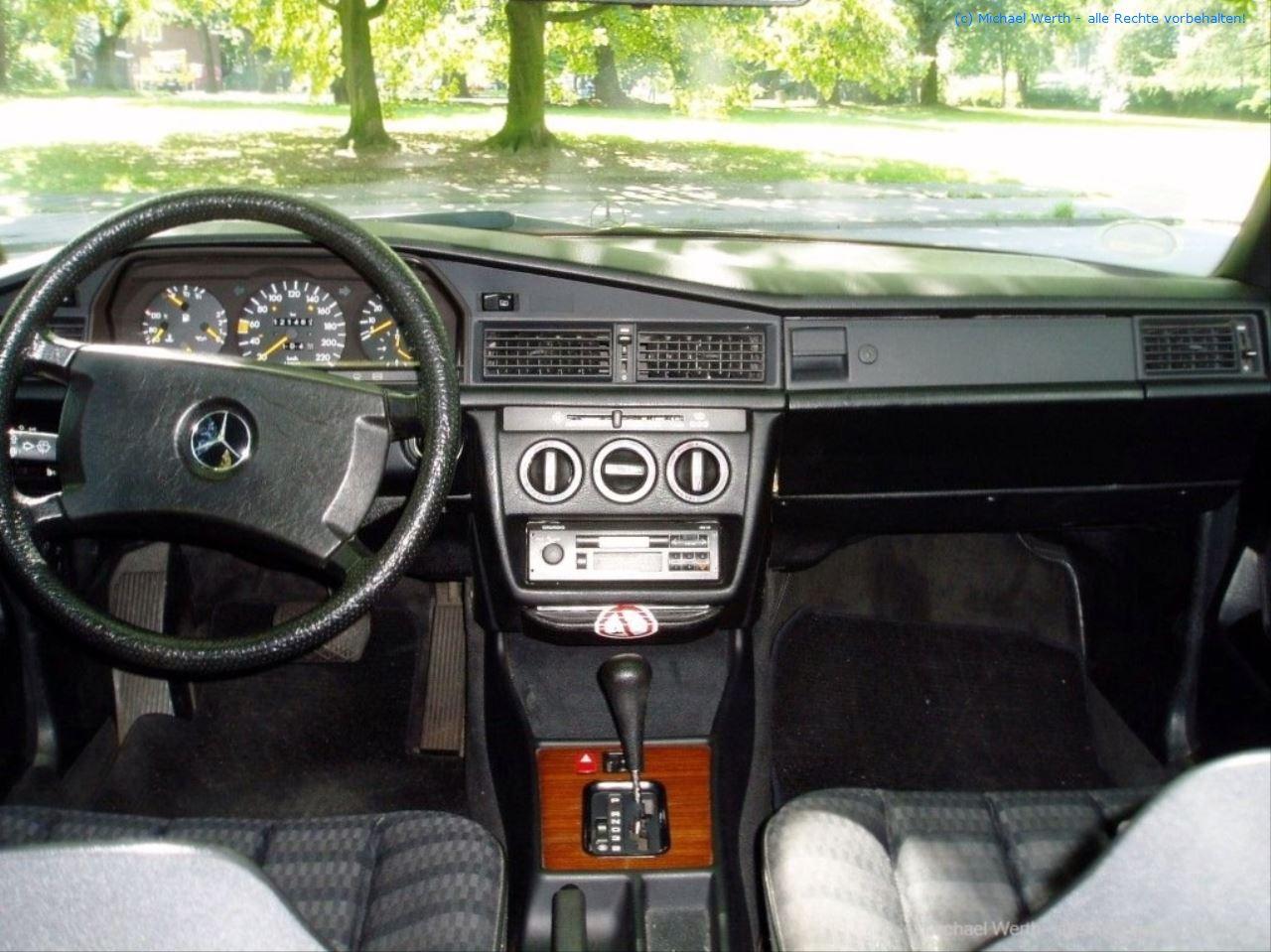 1989er Mercedes Benz 190E 2.0 #07