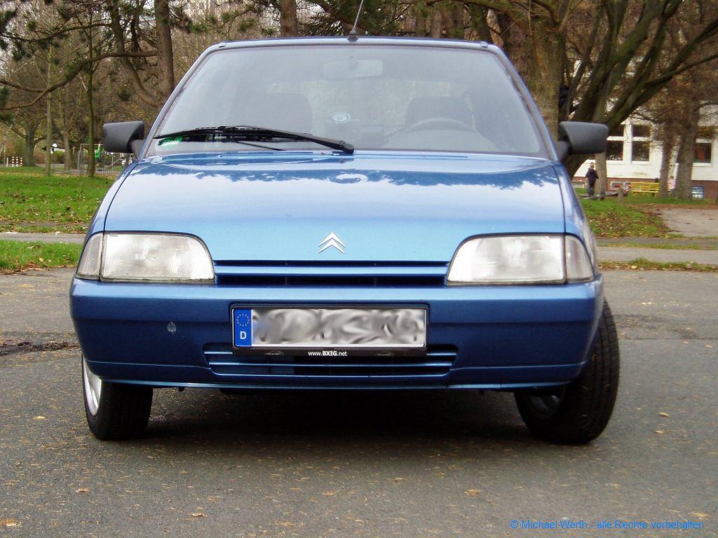 1994er Citroën AX Tonic in bleu Curaçao #03