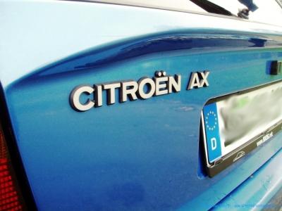 1994er Citroën AX Tonic in bleu Curaçao #10