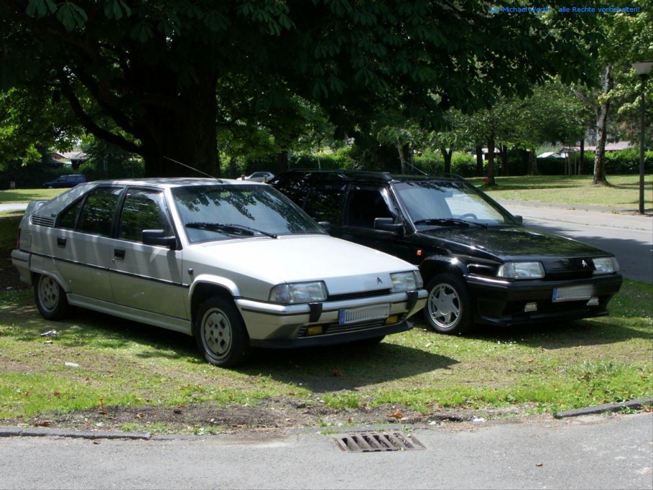 bildlicher Vergleich Citroën BX GTi & Citroën BX TZI Break #02