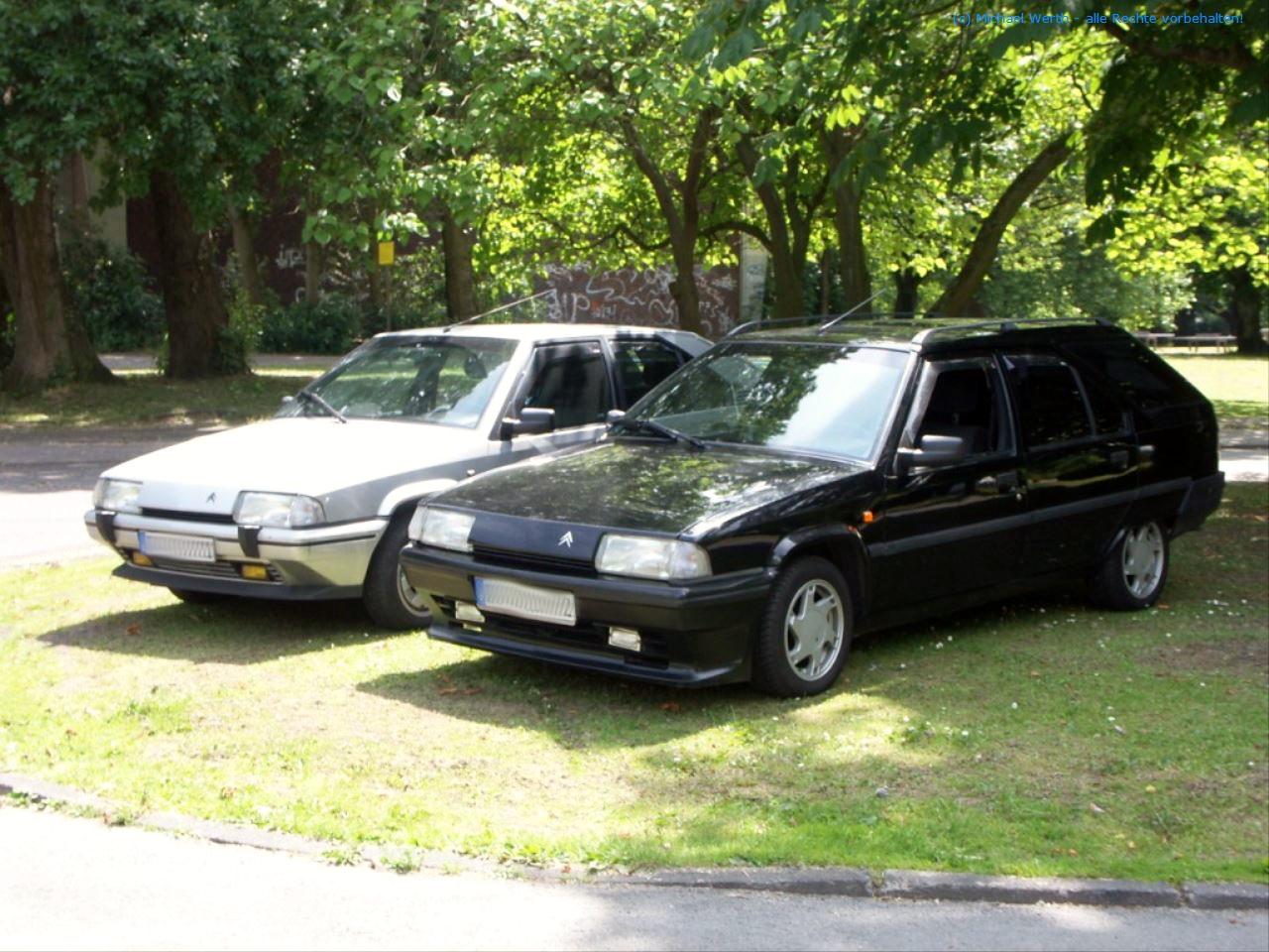 bildlicher Vergleich Citroën BX GTi & Citroën BX TZI Break #03