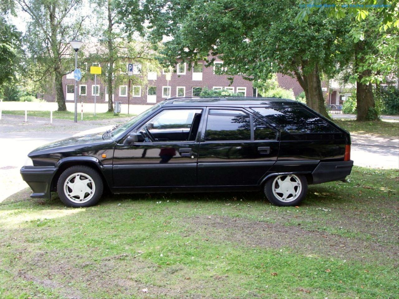 bildlicher Vergleich Citroën BX GTi & Citroën BX TZI Break #04