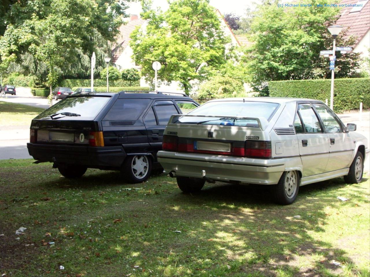 bildlicher Vergleich Citroën BX GTi & Citroën BX TZI Break #07