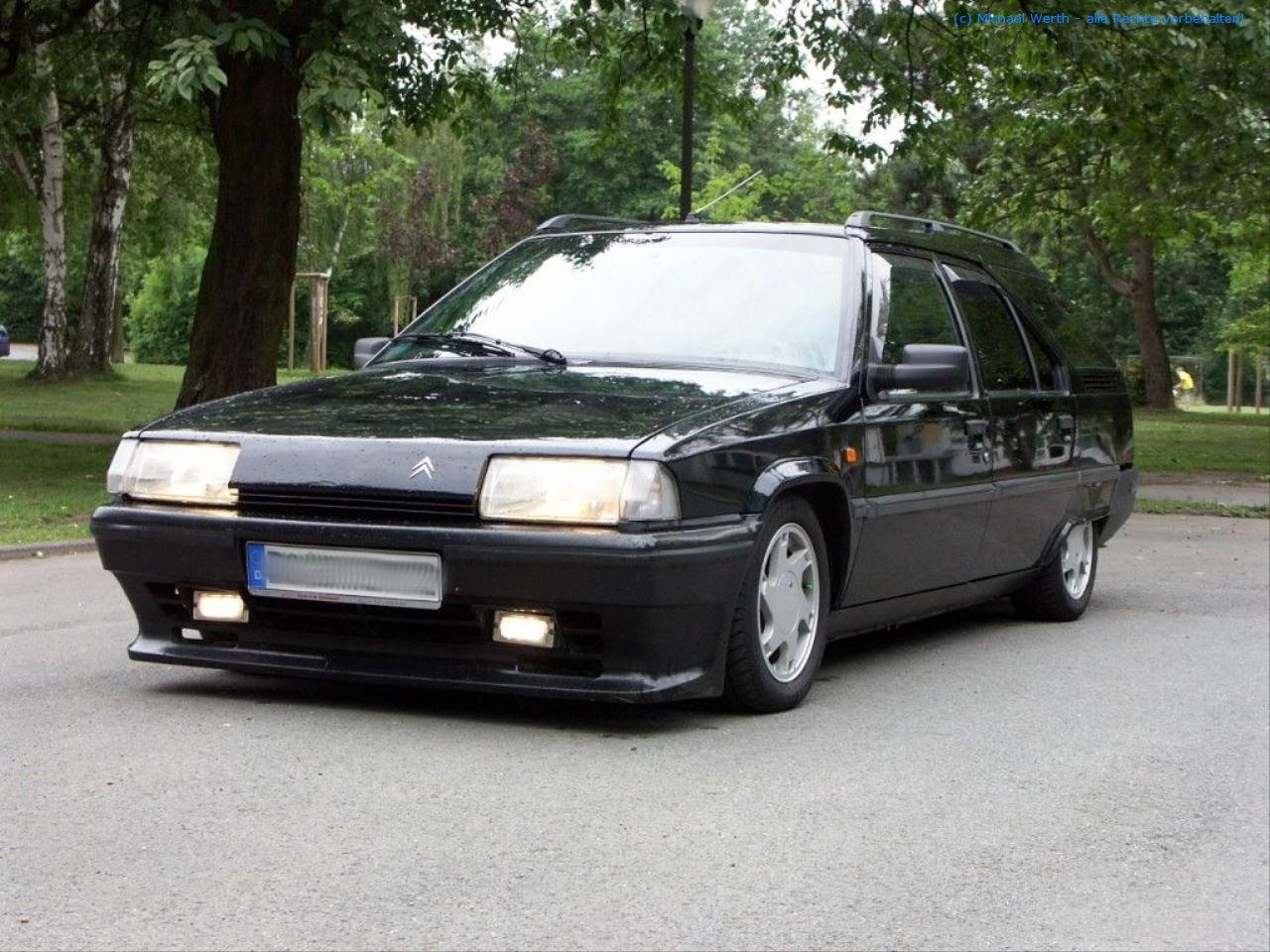 "1992er Citroën BX TZI Break - ""Black Mamba"" #04"