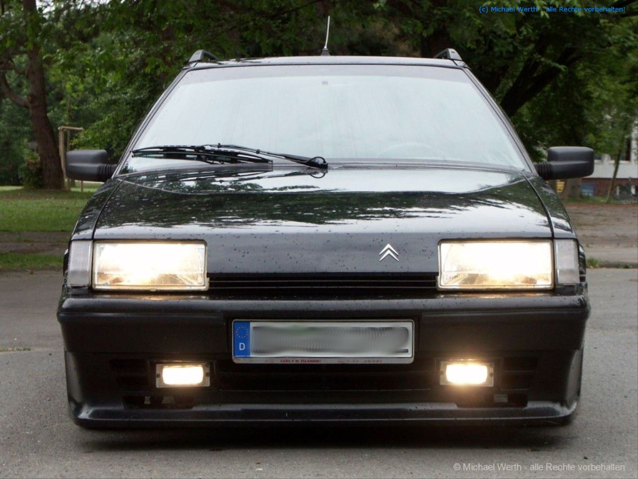 "1992er Citroën BX TZI Break - ""Black Mamba"" #06"