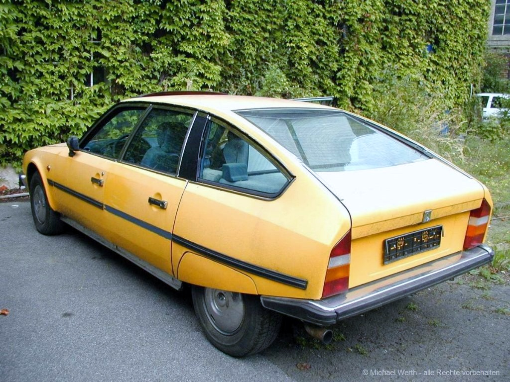 1983er Citroën CX 2500ie Pallas #01