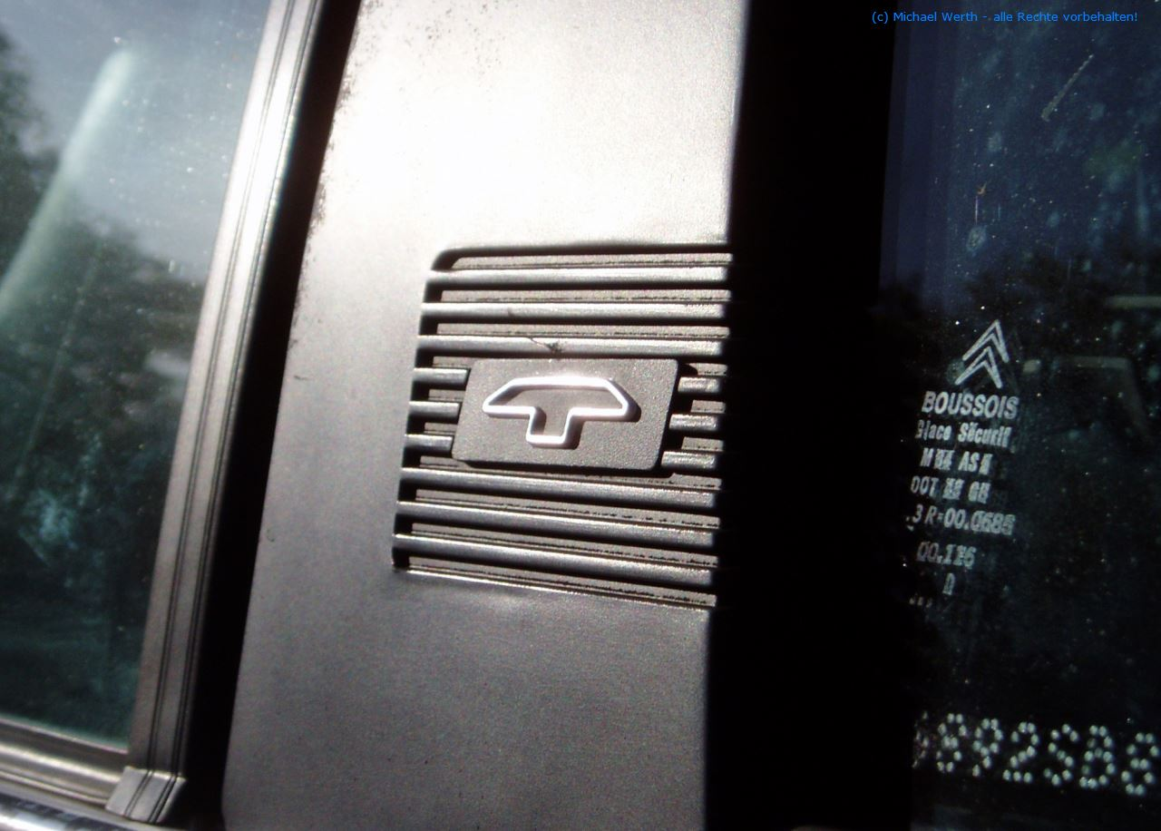 bildlicher Vergleich 1991er Citroën BX GTi & 1984er Citroën CX 25 GTi Turbo #02