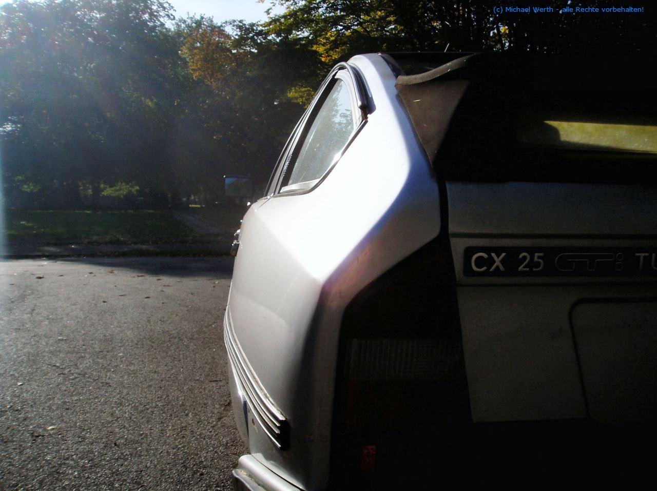 bildlicher Vergleich 1991er Citroën BX GTi & 1984er Citroën CX 25 GTi Turbo #03