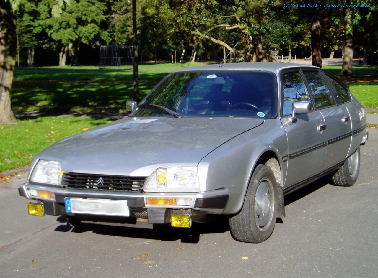 bildlicher Vergleich 1991er Citroën BX GTi & 1984er Citroën CX 25 GTi Turbo #05
