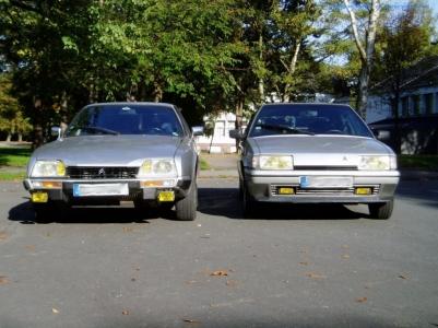 bildlicher Vergleich 1991er Citroën BX GTi & 1984er Citroën CX 25 GTi Turbo #06
