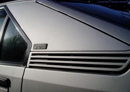 bildlicher Vergleich 1991er Citroën BX GTi & 1984er Citroën CX 25 GTi Turbo #07