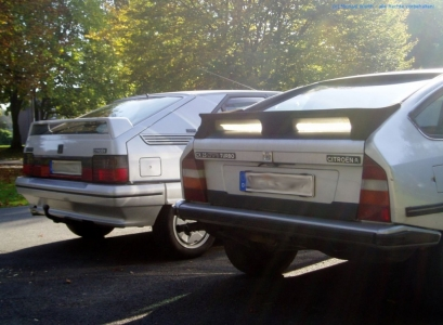 bildlicher Vergleich 1991er Citroën BX GTi & 1984er Citroën CX 25 GTi Turbo #11