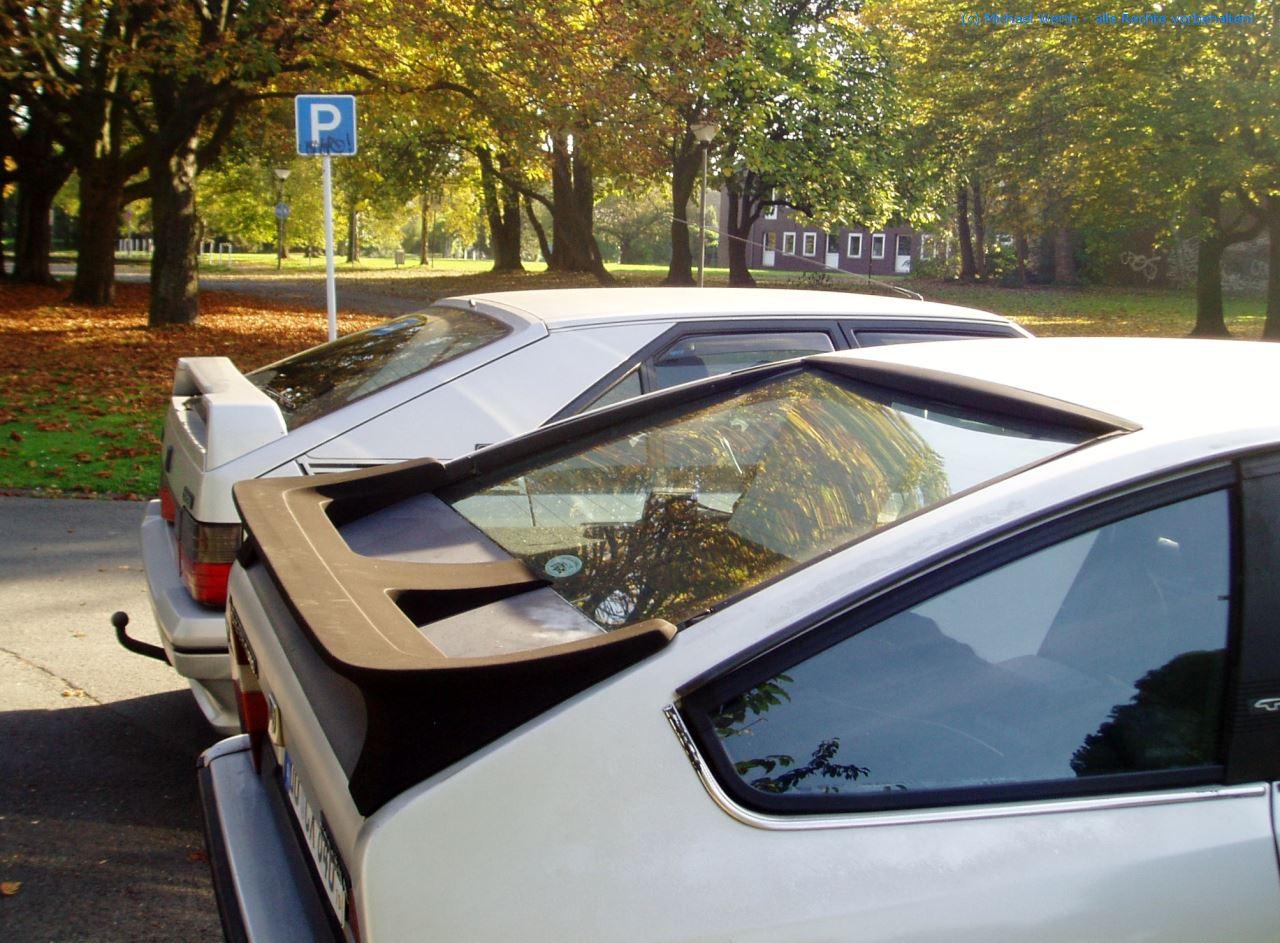 bildlicher Vergleich 1991er Citroën BX GTi & 1984er Citroën CX 25 GTi Turbo #12
