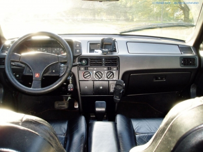 bildlicher Vergleich 1991er Citroën BX GTi & 1984er Citroën CX 25 GTi Turbo #15