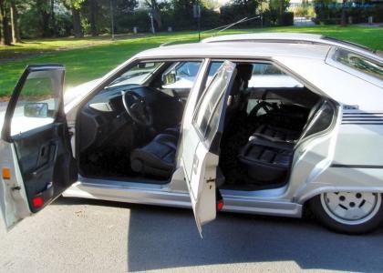 bildlicher Vergleich 1991er Citroën BX GTi & 1984er Citroën CX 25 GTi Turbo #18