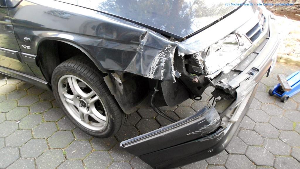 Citroen XM V6 Unfallschaden