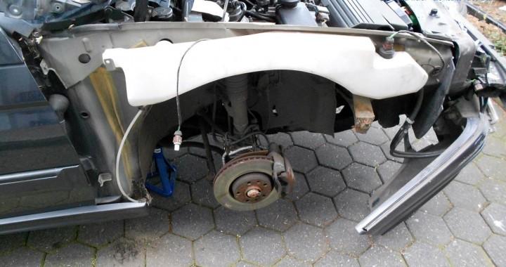 Citroën XM Kotflügel entfernen