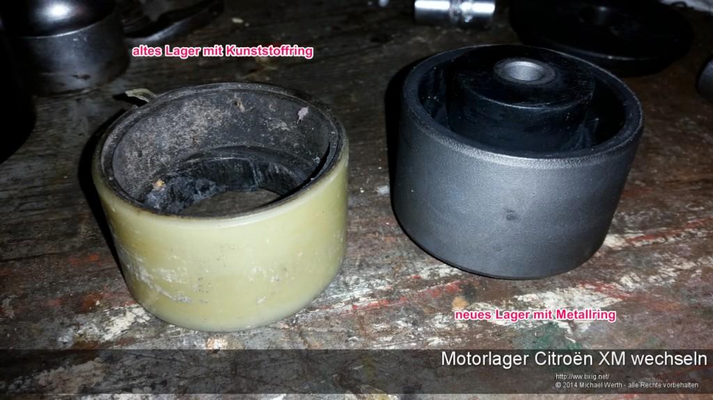 Motorlager_oben_und_unten_Citroen_XM_wechseln-2