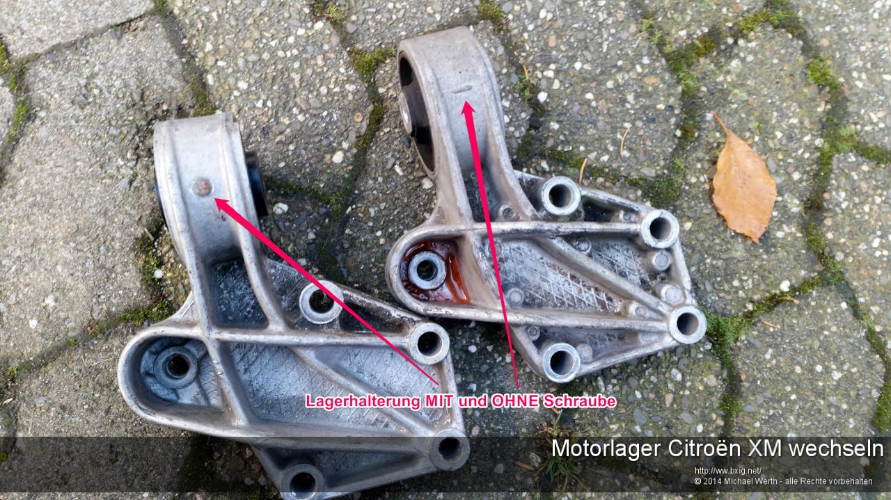 Motorlager_oben_und_unten_Citroen_XM_wechseln-4