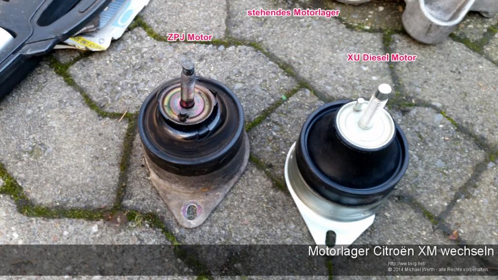Motorlager_oben_und_unten_Citroen_XM_wechseln-5