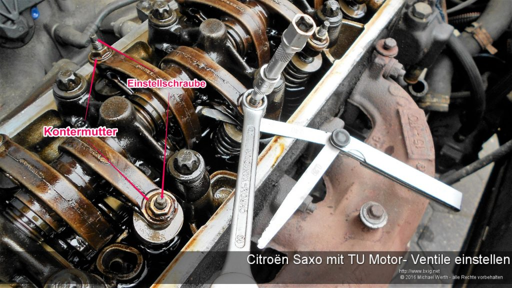 citroen-saxo-mit-tu-motor-ventile-einstellen-2