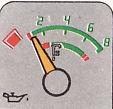 Anzeige BX Motoröldruck