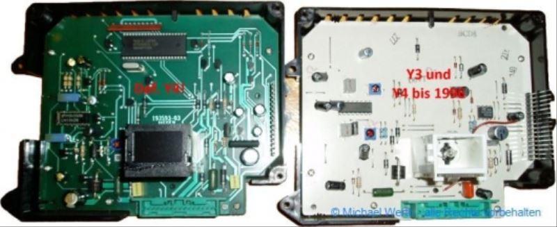 Automatikanzeige XM Y4 - 18