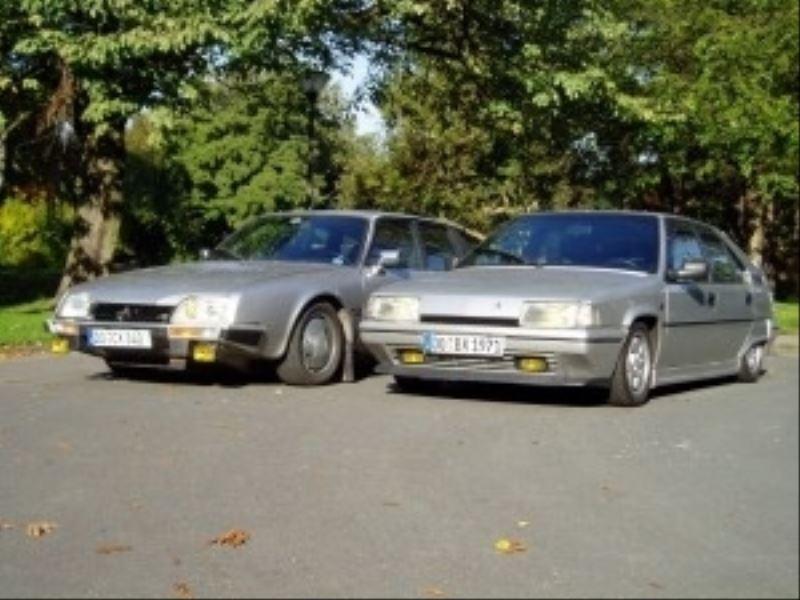 Citroen CX 25 GTi Turbo und BX GTi - 001